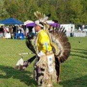 Native American Pow Wow Dancer, Clarksville, TN 2017