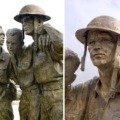 Bataan Memorial Statues-Las Cruces, NM