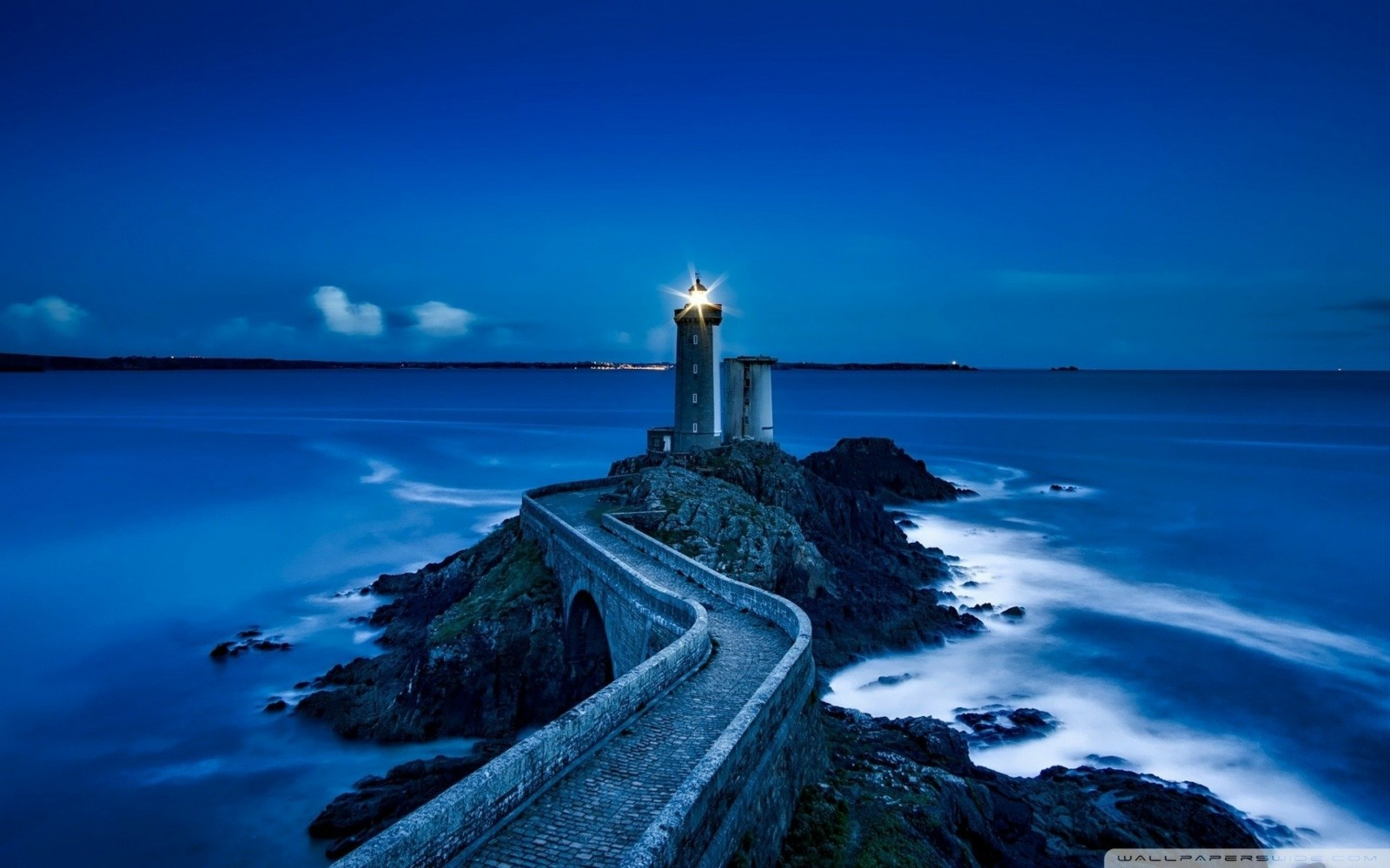 Healing & Recovery Lighthouse in Blue