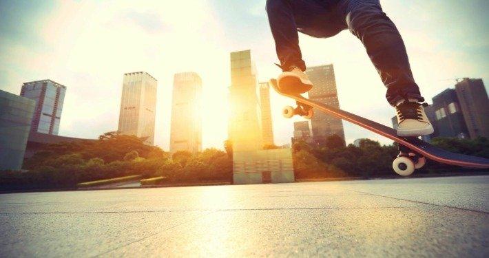 Youth Skateboarding